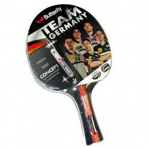 Butterfly Team Germany Concept Masa Tenisi Raketi