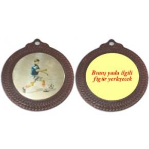 3. lük Madalyası Özel İsim ve Branş Baskılı