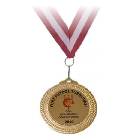 1. lik Madalyası Özel İsim ve Branş Baskılı