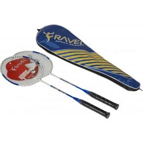 Delta DVR801 Tek Parça 2 Raket Badminton Raket Seti
